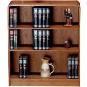 Classic Radius Bookcase, Steel Reinforced (3'Wx4'H)