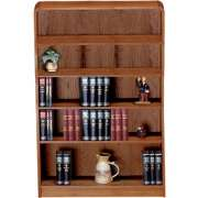 Classic Radius Bookcase, Steel Reinforced (3'Wx6'H)
