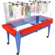 6-Station Youth Paint Center w/o Mega Tray