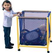 "Mobile Mesh Toy Box (25x25"")"