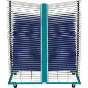 "Port-O-Rack Drying Rack - 80 Shelves (18""x24"")"