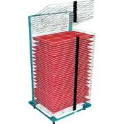 "Port-O-Rack Drying Rack - 50 Shelves (18""x24"")"