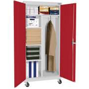Educational Edge Mobile Wardrobe Cabinet (36