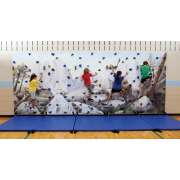Everlast Standard Climbing Mural Wall Package (40x8')