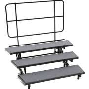 E-Z Folding Choir Riser - 3-Level (18