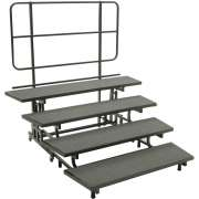 E-Z Folding Choir Riser - 4-Level (18