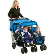 Four-Passenger Commercial Stroller