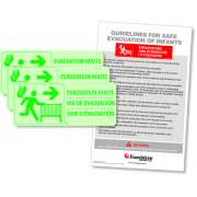 First Responder Evacuation Sign Kit