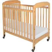 Serenity Fixed Sides Crib Mirror w/ Mattress