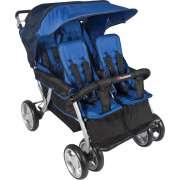 Quad LX 4-Passenger Folding Stroller