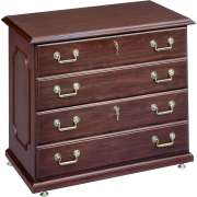 Governors Lateral File Cabinet with 2 Locking Drawers