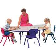 Prima Adjustable Kidney Activity Table (72x48