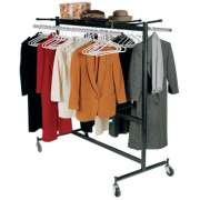 "Heavy Duty Portable Coat Rack (5'7"")"