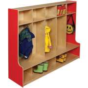 Healthy Kids Colors 5-Section Seat Locker (54
