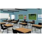 "Social Distancing Classroom Floor Decal (48x96"")"