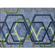"First Take Double Helix Area Rug (7'8""x10'9"")"