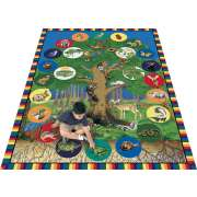 "Tree of Life Carpet (5'4""x7'8"")"
