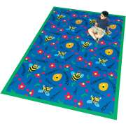 "Bee Attitudes Carpet (3'10""x5'4"")"