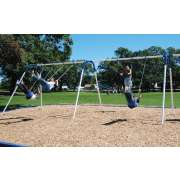 Bipod Playground Swings w/ 4 Seats