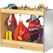 Preschool Dress Up Storage Closet