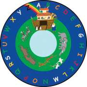 Noah's Ark Round Carpet