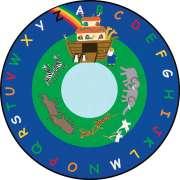 Noah's Ark Round Carpet