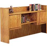 "Contemporary Bookshelf Hutch for 68"" Desk"