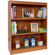 "Reinforced Shelf Laminate Bookcase with 2 Shelves (48""H)"