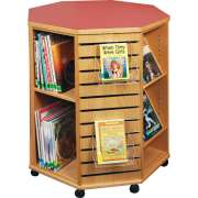 Mobile Octagonal Book Display