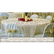 70in Round Lace Tablecloth