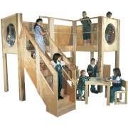 Deluxe Explorer 10 Preschool Loft