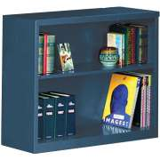 "Steel Bookcase (36""Wx30""H)"