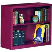 "Steel Bookcase (34.5""Wx30""H)"