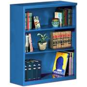 "Extra Deep Steel Bookcase (36""Wx42""H)"