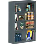 "Steel Bookcase (34.5""Wx52""H)"