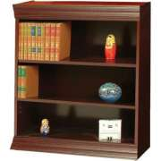 Wood Veneer Bookcase Excalibur Shelves (3'Wx4'H)