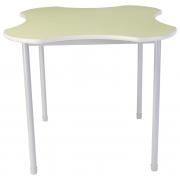 "Dura Heavy Duty Adj. Standing Classroom Table (Clover, 48"")"