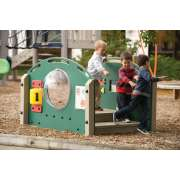Kinder Crossing Preschool Playground Bridge from ultraPLAY