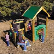 ultraPLAY Outdoor Preschool Activity Playhouse
