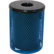 32 Gallon Trash Can Diamond Cut