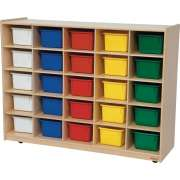 Storage Unit with 25 Assorted Trays