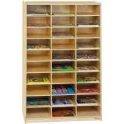 Wooden Mail Organizer