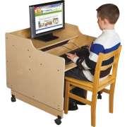 "Mobile Classroom Computer Desk (30""W)"