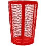 Outdoor Metal Trash Can