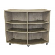 Academia Curved School Bookcase