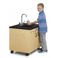 Clean Hands Helper Portable Sink - Plastic Sink