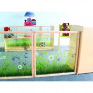 Nature View Room Divider Panel