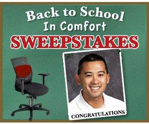 Hertz Furniture Announces Winner of Back to School in Comfort Sweepstakes