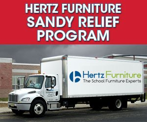 Hertz Furniture Announces Sandy Relief Program, Offering Disaster Relief to Schools and Others Affected by Hurricane Sandy