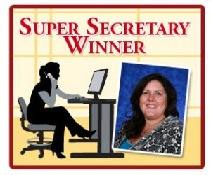 Hertz Furniture Honors an Exceptional School Secretary, the Winner of their Super Secretary Sweepstakes